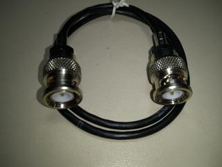 Patch Cord E1 Bnc X Bnc 3mm 50 Cm 16 Pçs
