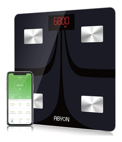 Balanza Digital Composicion Corporal Bluetooth Abyon