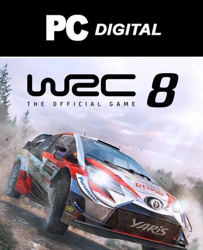 Wrc 8 Rally Pc Español / Edición Deluxe Digital