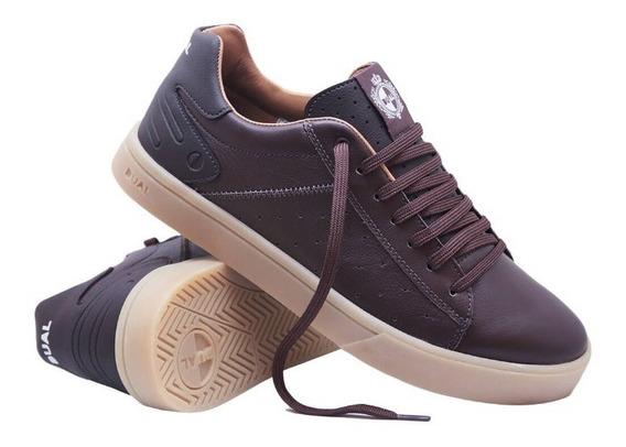 Tênis Dual Footwear Data Marrom 1008.01