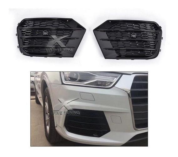 Audi Q3 2016 2017 2018 Par De Molduras De Farol De Milha