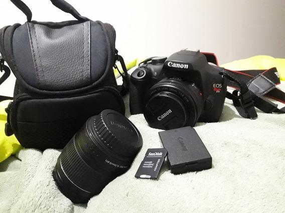 Canon T5 + 2 Lentes