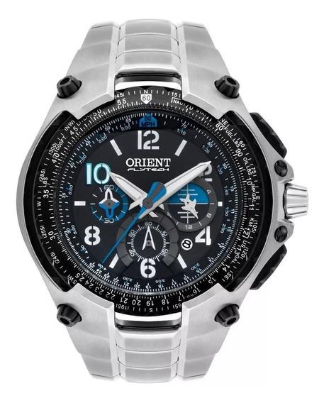 Relógio Orient Flytech Titanium Mbttc016 - 12x S Juros