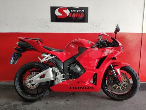 Honda Cbr 600 Rr 600rr Cbr600rr 2013 Vermelha Vermelho