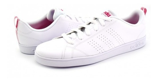 Tenis adidas Bb9976 White Vs Advantage Clean 17-25 Niñas