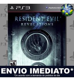 Resident Evil Revelations Ps3 Midia Digital Envio Imediato