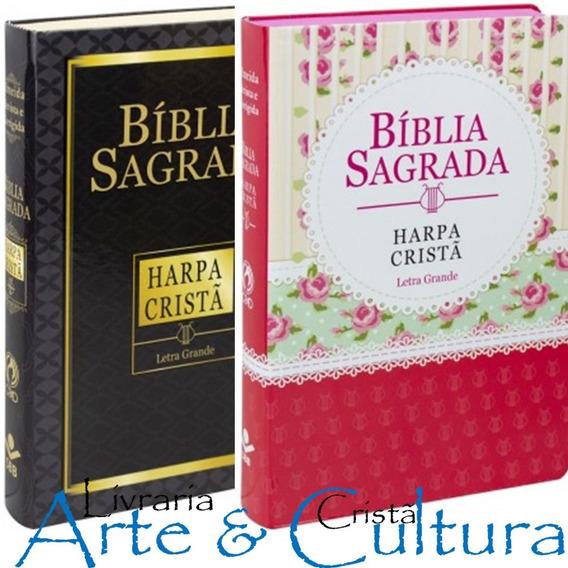 Bíblia Sagrada Com Harpa Cristã Masculina E Feminina