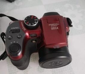 Câmera Semi-profissional Ge X550 Vermelha (usada)