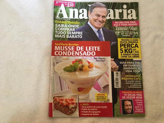 Revista Ana Maria 1035 Augusto Cury Depilação Receitas O330