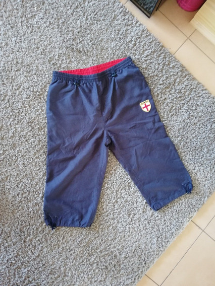 Pantalon 3/4 Rugby England Hombre Talle M