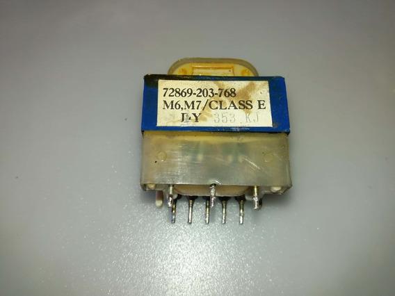 Transformador Da Placa De Microondas 72869-768 127v