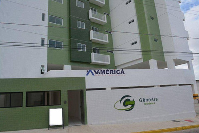 Apartamento Com 2 Dormitórios À Venda, 57 M² Por R$ 185.104 - Alto Do Céu - João Pessoa/pb - Ap0296