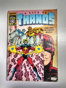 A Saga De Thanos Nº2 - Abril