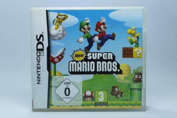 New Super Mario Bros - Nintendo Ds - Europeu - 12x Sem Juros