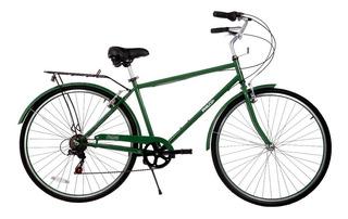 Bicicleta Urbana Toscana Paseo Philco R28 7 Vel Shimano Env