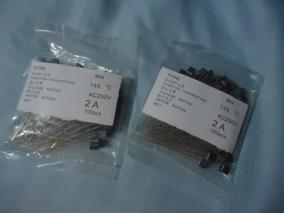 2 Kit Fusível Térmico P/ Ventilador 145 Graus 2 A 200pçs