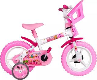 Bicicleta Infantil Aro 12 Princesinha E Dino Styll Kids