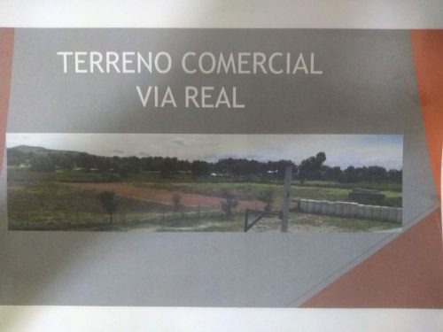 Terreno Comercial En Via Real