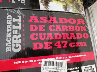 Asador De Carbón Backyard Grill