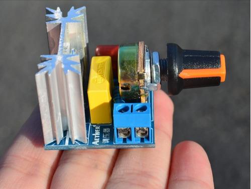 Regulador De Velocidad Scr Dimmers 220v 2000w Smart Arduino