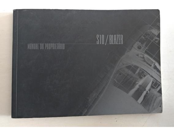 S10/blazer Manual Do Proprietário Original