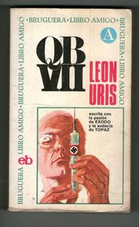 Q B Vll Leon Uris 1ª Bruguera 1971 Libro Amigo Acción Nazis