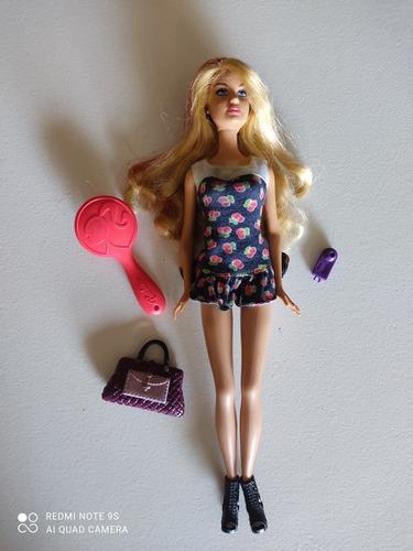 Muñeca Barbie Original Con Accesorios
