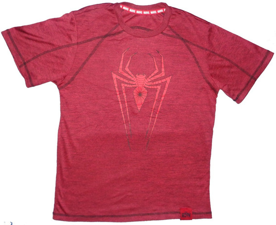 Marvel - Playera Spiderman, Hero Elite Series (niño Talla L)