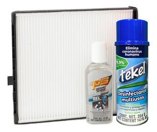 Kit Desinfectante Y Filtro De Cabina Aveo 09-11 1.6