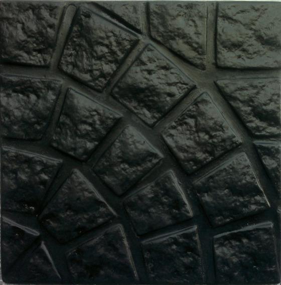 Cementicio Circular Grande Negro 40x40 Cm.