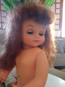 Boneca Maezinha Antiga Estrela