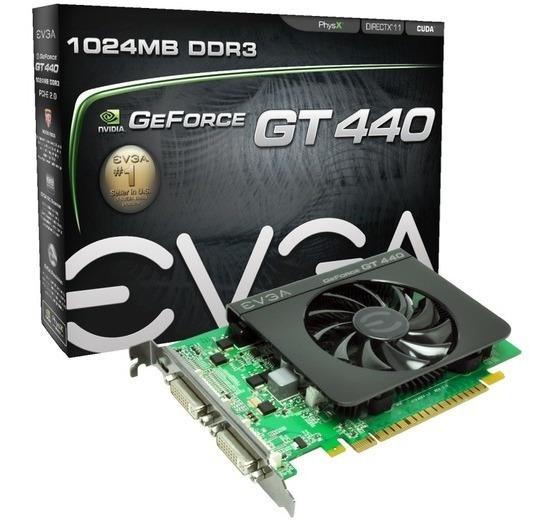 Placa De Video Evga Geforce Gt440 1gb Ddr3