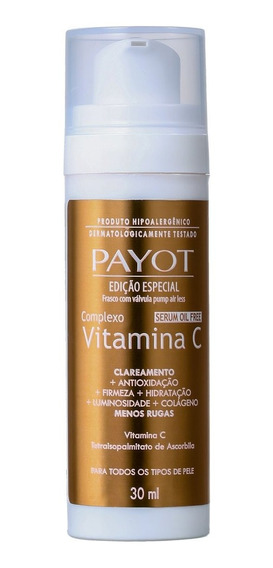 Payot Complexo Vitamina C - Sérum Anti-idade 30ml Blz