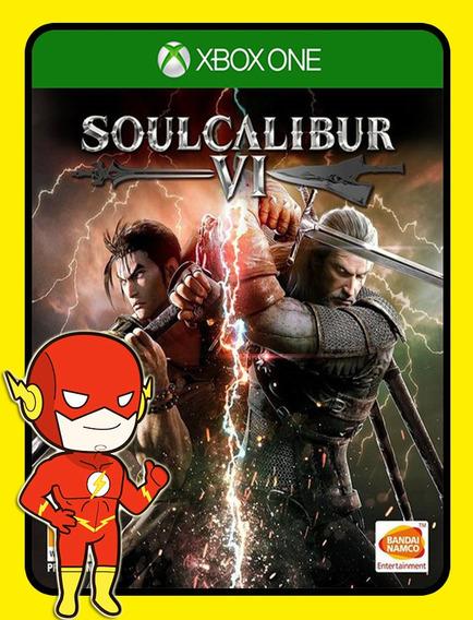 Soulcalibur Vi Xbox One - 25 Dígitos (envio Flash)