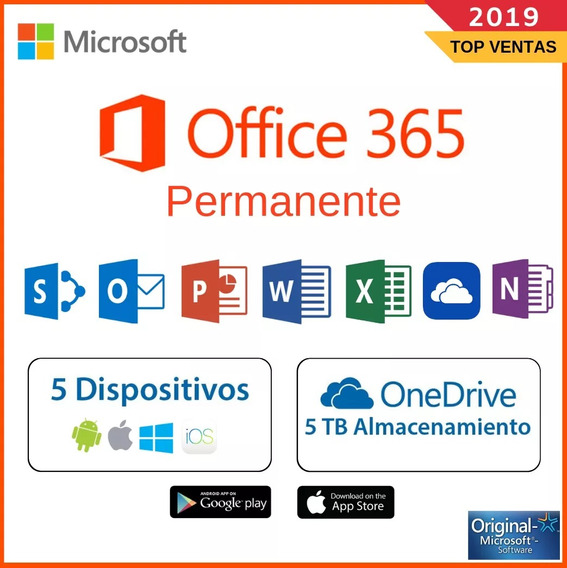 Office 365 / 5 Pc / Mac / Tables