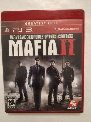 Mafia 2 Ps3 Playstation Físico Original