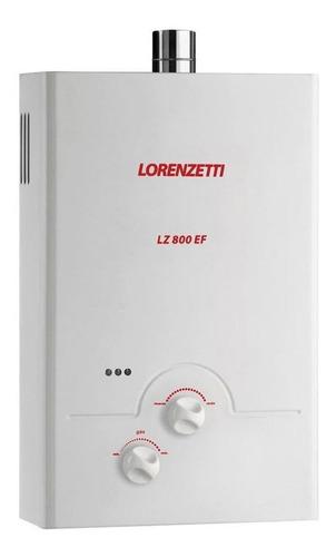 Aquecedor Lorenzetti Lz 800 Ef 8l Glp