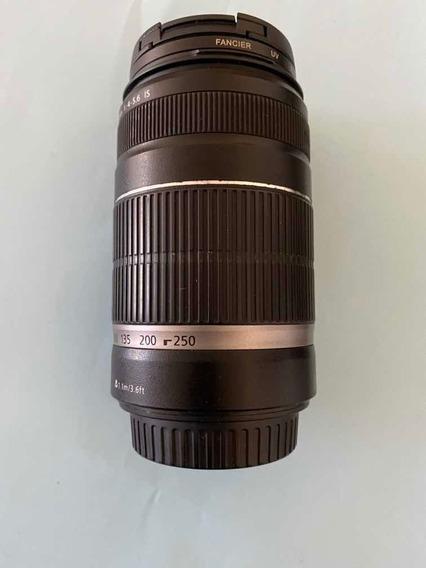 Lente Canon 55-250 Mm Ef-s