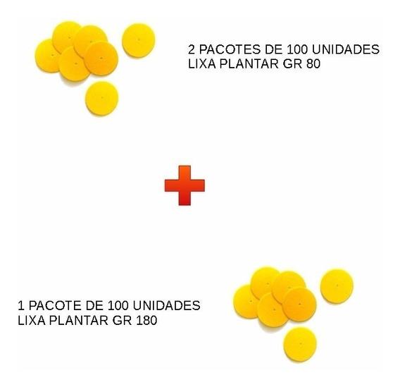 Lixa Plantar: 2 Pct Gr80 + 2 Pct Gr180