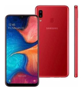 Celular Samsung A20 Galaxy 32 Gb Tela 6.4 Vermelho