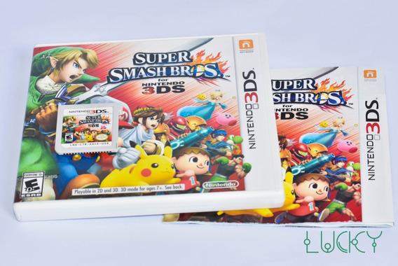 Super Smash Bros - Nintendo 3ds/2ds - Americano!