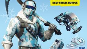 Fortnite Deep Freeze Bundle + 1.000 V-bucks Pc