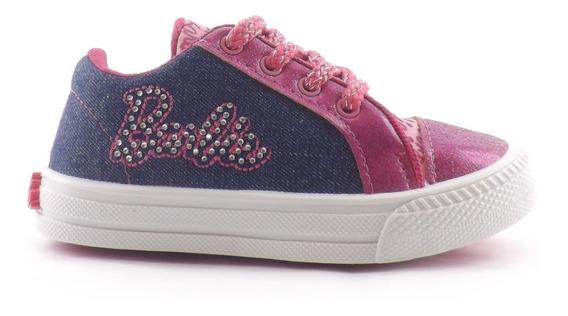 Zapatillas Barbie Nena Niñas Cordones Liquidacion 27-30