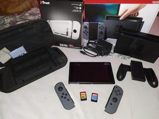 Consola Nintendo Switch (usado) +zelda+mario