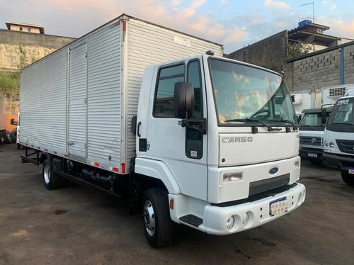 Imagem 1 de 15 de Ford Cargo 816 Baú De 6,20 M Muito Novo
