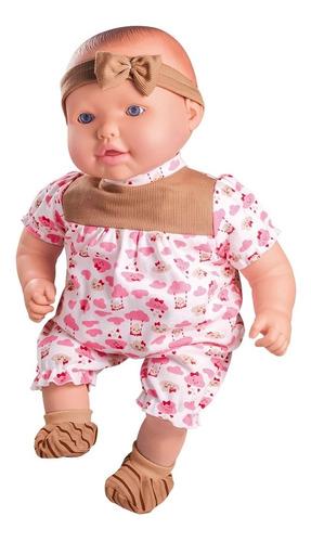 Imagem 1 de 3 de Boneca Baby Mariah Cheirinho De Neném - Milk Brinquedos