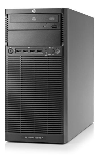 Servidor Hp Proliant Ml110 G7 4gb Hd 500gb Xeon