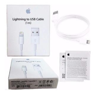 Cabo Carregador iPhone 5 6 7 8 iPad Air Apple Original