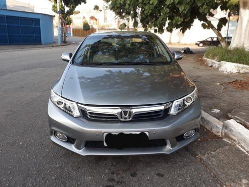 Imagem 1 de 15 de Honda Civic 2014 2.0 Lxr Flex Aut. 4p