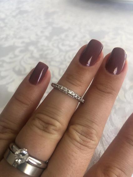 Aliança De Diamantes